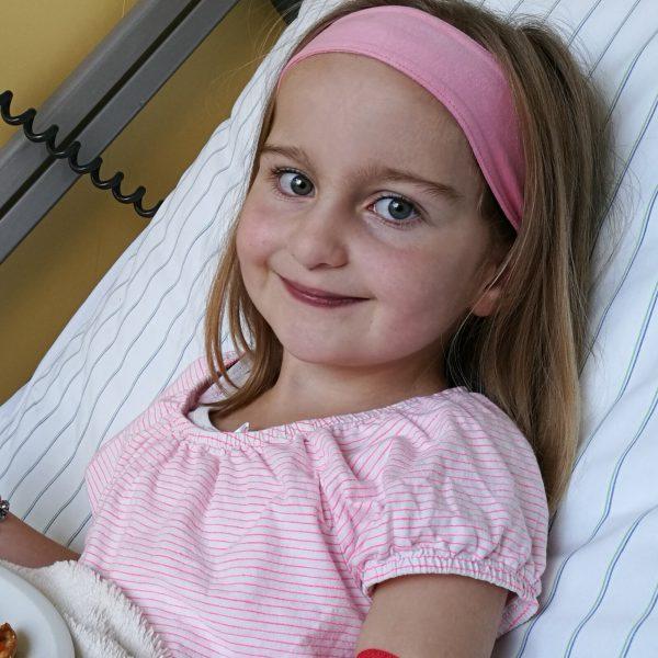 Zoe im Krankenhaus
