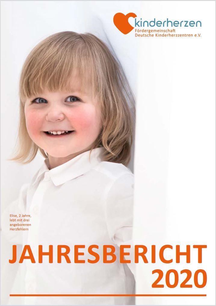 Cover Jahresbericht 2020